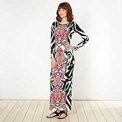 Star by Julien Macdonald - Designer pink paisley print maxi dress