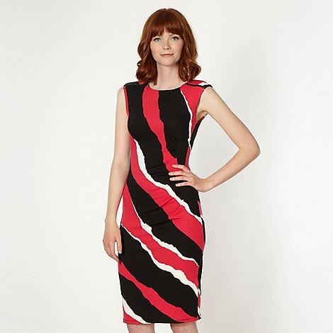 Star by Julien Macdonald - Designer black triple striped dress