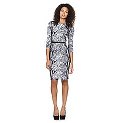 Star by Julien Macdonald - Designer grey snake print dress