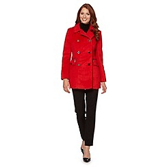 Star by Julien MacDonald - Designer red reefer coat