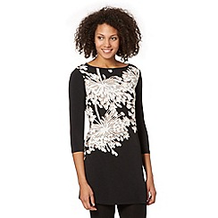 Star by Julien MacDonald - Designer black flower top