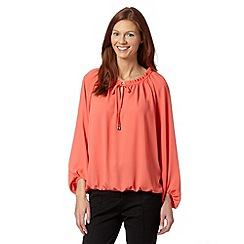 Star by Julien MacDonald - Designer coral gypsy top