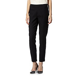Star by Julien MacDonald - Designer black square jacquard trousers
