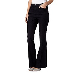 Star by Julien Macdonald - Designer dark blue kick flare jeans
