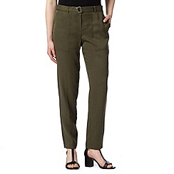 Star by Julien Macdonald - Designer khaki cargo trousers