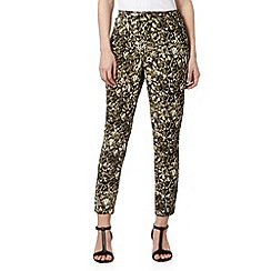 Star by Julien MacDonald - Designer natural snake print trousers