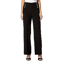 Star by Julien MacDonald - Designer black palazzo trousers