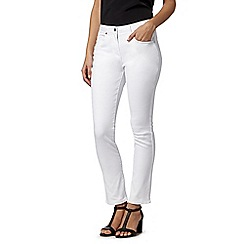 Star by Julien MacDonald - Designer white denim skinny jeans