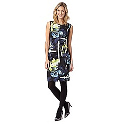 Star by Julien MacDonald - Designer lime floral scuba dress
