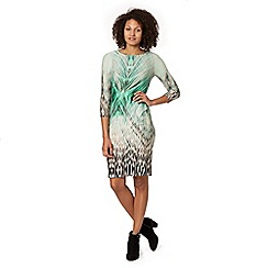 Star by Julien MacDonald - Designer green jungle print dress