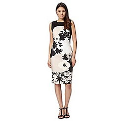 Star by Julien MacDonald - Designer natural block floral dress