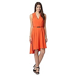 Star by Julien MacDonald - Designer coral belted asymmetric dress