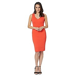 Star by Julien Macdonald - Designer coral textured dress