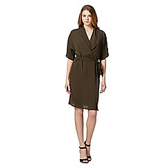 Star by Julien MacDonald - Designer khaki kimono dress