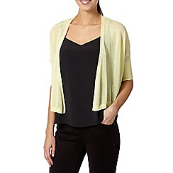 Star by Julien Macdonald - Designer light yellow shrug
