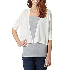 Star by Julien MacDonald - Designer ivory knitted shrug