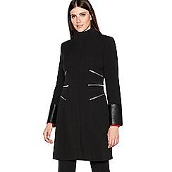 Star by Julien MacDonald - Designer black zip through parka jacket