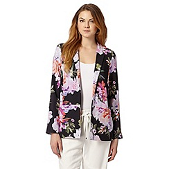 Star by Julien MacDonald - Designer black floral print jacket