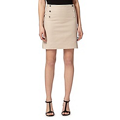 Star by Julien Macdonald - Designer nude mini skirt