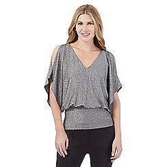 Star by Julien Macdonald - Grey sparkle bubble top
