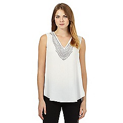 Star by Julien Macdonald - Ivory studded top