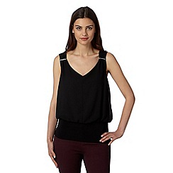 Star by Julien MacDonald - Designer black bar trim top