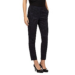 Star by Julien Macdonald - Dark blue jacquard trousers