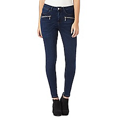Star by Julien Macdonald - Blue denim zip jeans