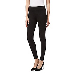 Star by Julien Macdonald - Black elasticated leggings