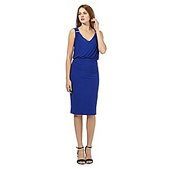 Star by Julien Macdonald - Royal blue trim dress