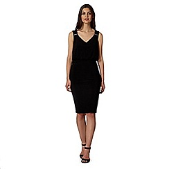 Star by Julien Macdonald - Designer black bar trim dress