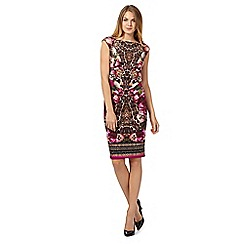 Star by Julien Macdonald - Pink print scuba dress