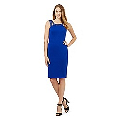 Star by Julien Macdonald - Royal blue hotfix scuba dress