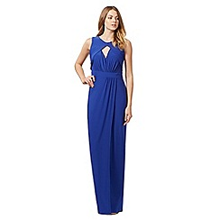 Star by Julien Macdonald - Royal blue cut out detail maxi dress