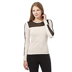Star by Julien Macdonald - White studded  jumper