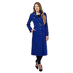 Star by Julien Macdonald - Bright blue military coat