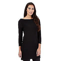 Star by Julien Macdonald - Black eyelet tie side tunic