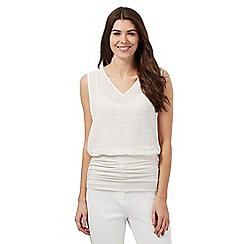 Star by Julien Macdonald - Ivory studded gathered top