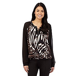 Star by Julien Macdonald - Brown animal print shirt top
