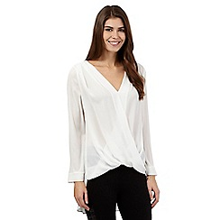 Star by Julien Macdonald - Ivory wrap top