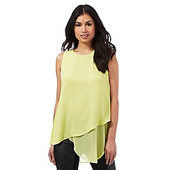 Star by Julien Macdonald - Lime asymmetric top