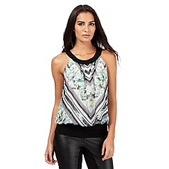 Star by Julien Macdonald - Black floral top