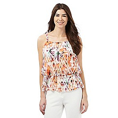 Star by Julien Macdonald - Multi-coloured pleated floral print top