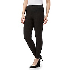 Star by Julien Macdonald - Black stretch leggings