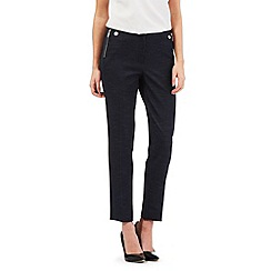 Star by Julien Macdonald - Navy chambray smart trousers