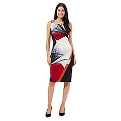Star by Julien Macdonald - Red block floral dress