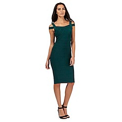 Star by Julien Macdonald - Dark green bodycon dress