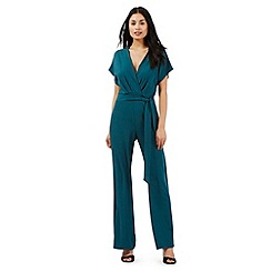 Star by Julien Macdonald - Dark green kimono jumpsuit