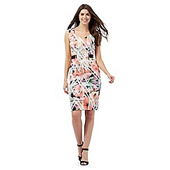 Star by Julien Macdonald - Multi-coloured floral print scuba dress