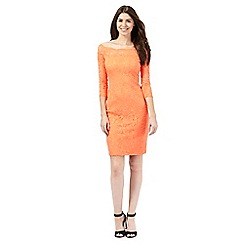 Star by Julien Macdonald - Orange lace dress